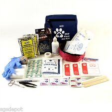 Emergency Pet First Aid Pouch Water 1st Aid Kit Leash Bowl Veterinarian Approved
