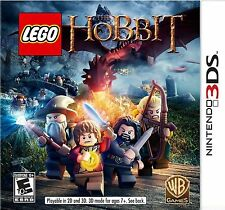 LEGO The Hobbit USED SEALED Nintendo 3DS 3 DS 2 2DS Free Shipping