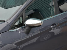 CHROME SIDE Door Specchietto Laterale Trim Set copre per FORD B-MAX 2012 +