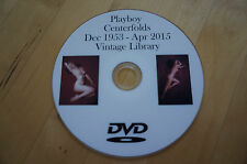 Playboy complete centerfolds 1953 - 2015, 737 images centerfolds playboy DVD
