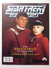 Star Trek # 86 1992 Official Fan Club Magazine Nimoy Spock Kim Cattrall (M323)