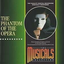 THE PHANTOM OF THE OPERA - JOHN BARROWMAN / GRAHAM BICKLEY - RARE SOUNDTRACK CD