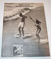 Vintage Nutrament Weight Control Magazine Ad