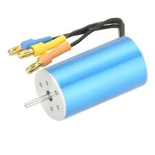 2445 3000KV KV3000 Sensorless Brushless Motor Blue for RC Car Boat
