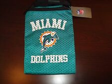 MIAMI DOLPHINS JERSEY Game Day Pouch PURSE ZIPPER BAG CASE MAKEUP CAMERA GLASSES