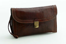 The Bridge Handgelenktasche Top Zustand Herrentasche Vintage Leather Men's Bag