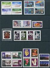 Canada 1989 Complete Commemorative Year Set NH - Scott 1229-1263, 34 Stamps
