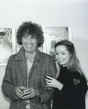 Tom Baker and Lalla Ward UNSIGNED photo - H119 - Doctor Who