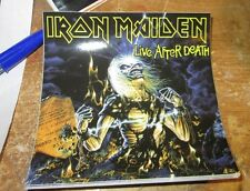 IRON MAIDEN STICKER COLLECTIBLE RARE VINTAGE 90'S METAL DECAL