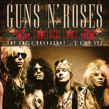 GUNS N ROSES New Sealed 2017 UNRELEASED LIVE 1992 CHILE CONCERT 2 CD SET