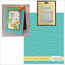 BUBBLES embossing folder - Taylored Expressions embossing folders TEEF26