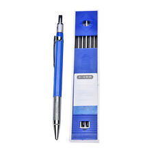 2B 2mm Lead Holder Automatic Mechanical Draw Drafting Pencil 12 Leads Refills QW