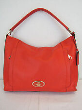 Coach Coral Scout Hobo Pebble Leather Shoulder Bag MSRP $325 #CHN 51