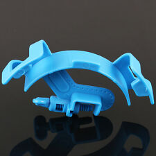 Blue Aquarium Filtration Water Pipe Filter Hose Holder For Mount Tube Fish Tank