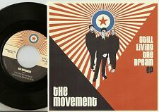 THE MOVEMENT STILL LIVING THE DREAM EP GERMAN 45+PS 2011 MOD REVIVAL SKA THE JAM