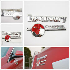 3D Metal Discovery Channel Emblem Decal Badge Sticker Car Truck Off Road Pickup