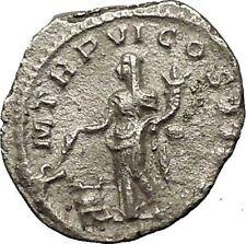 SEVERUS ALEXANDER 227AD Silver Ancient  Roman Coin ANNONA Wealth i54245