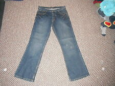 "New Look Use And Abuse Flint Bootcut W34"" Leg 32"" Faded Dark Blue Ladies Jeans"