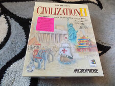 Sid Meiers Civilization 2 PC-CD Rom - Big Box Complete with Manual