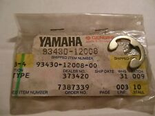 #CG NOS Yamaha circlip e clip kicker kick start starter shaft 93430-12008