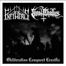 Exetheris / Goat Phallus -..Crucifix Split CD,Dodsferd