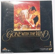 Clark Gable: Gone With The Wind LASERDISC MGM Video 2-Disc Set US 1992