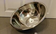 new round medium stainless steel sink  34cm  for caravan,boat, catering trailer