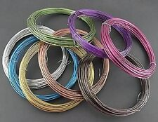 18m x 1.5mm Mixed Soft Aluminium Wire (3 colours)
