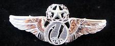 MASTER REMOTE PILOT AIRCRAFT SENSOR OPERATOR BADGE US AIR FORCE AUTHENTIC PIN