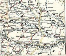 Fürstenfeld Feldbach Gleisdorf 1910 Radfahrer-Karte/Ln. Kaibing Fehring Michael