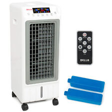 Portable Evaporative Air Cooler Ionizer Humidifier Remote Tower Fan Cooling LCD