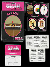 Hen Party Bride to be Game of Secrets Revealed for upto 12 Players Fun Night