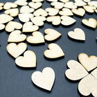 100 x 3cm / 30mm MDF HEARTS LASER CUT MDF WOODEN SHAPE