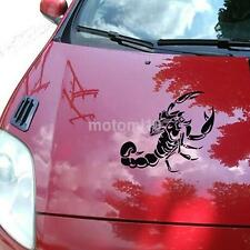 Fashion 3D Scorpion Car Stickers Car Styling Sticker for Cars Decoration Black