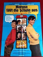 Morgen fällt die Schule aus Kinoplakat A1 Heintje, Hansi Kraus, 1971
