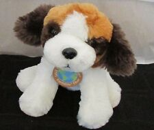 Plush dog St. Saint Bernard NWT Dandee save our Earth now recycled SOFT toy 9""