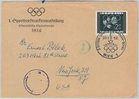 OLYMPIC GAMES  -  POSTAL HISTORY - AUSTRIA: Cover with special postmark 1976