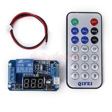 12V LED Digital Programmable Timer Relay Switch Module Remote Control