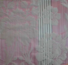 CLARENCE HOUSE Rigoletto pink cotton silk woven France Remnant New