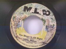 """LITTLE MILTON """"THE BLUES IS ALL RIGHT / COMEBACK KIND OF LOVING"""" 45"""