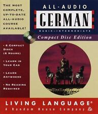 All-Audio CD: All-Audio German CD by Living Language Staff (1999, Mixed Media)