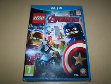 Lego marvel avengers wii u ** nouveau & sealed ** uk stock.