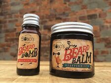 BOBOS BEARD COMPANY BEARD BALM 50ML MADE WITH MOROCCAN ARGAN OIL