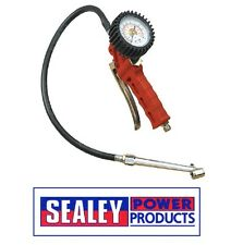 Sealey Tyre Inflator with Twin Push-On Connector SA9312