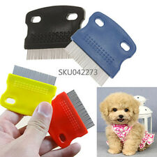 Pet Zoom Metal Dog Puppy Cat Hair Flea Cleaning Comb Small Grooming Tool Steel