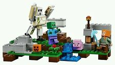 Lego Minecraft Child Play Build Creative Fun Craft  Block Table Kid Game Toy Set