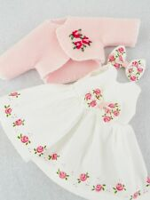 "COLOR CHOICE HP Roses Doll Dress For Ann Estelle Patsy  10"" Tonner YoYoCottage"