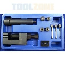 10 Piece Chain Splitter / Breaker and Riveter/ Riveting Tool Kit