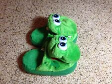 STOMPEEZ GROWLING DRAGON SLIPPERS SZ Small. Mint Condition. Ked
