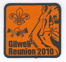 HONG KONG SCOUTS - HK Scout Leader Woodbadge Holder Gilwell Reunion 2010 Patch